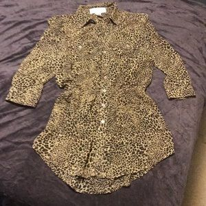 Gypsy Warrior Leopard Tunic 🐾
